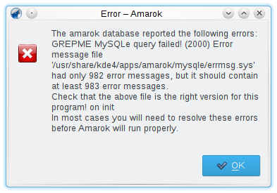 KDE Amarok database error 20200226_124748.png