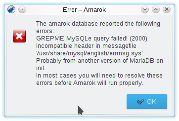 KDE Amarok database error 20200227_215212.png